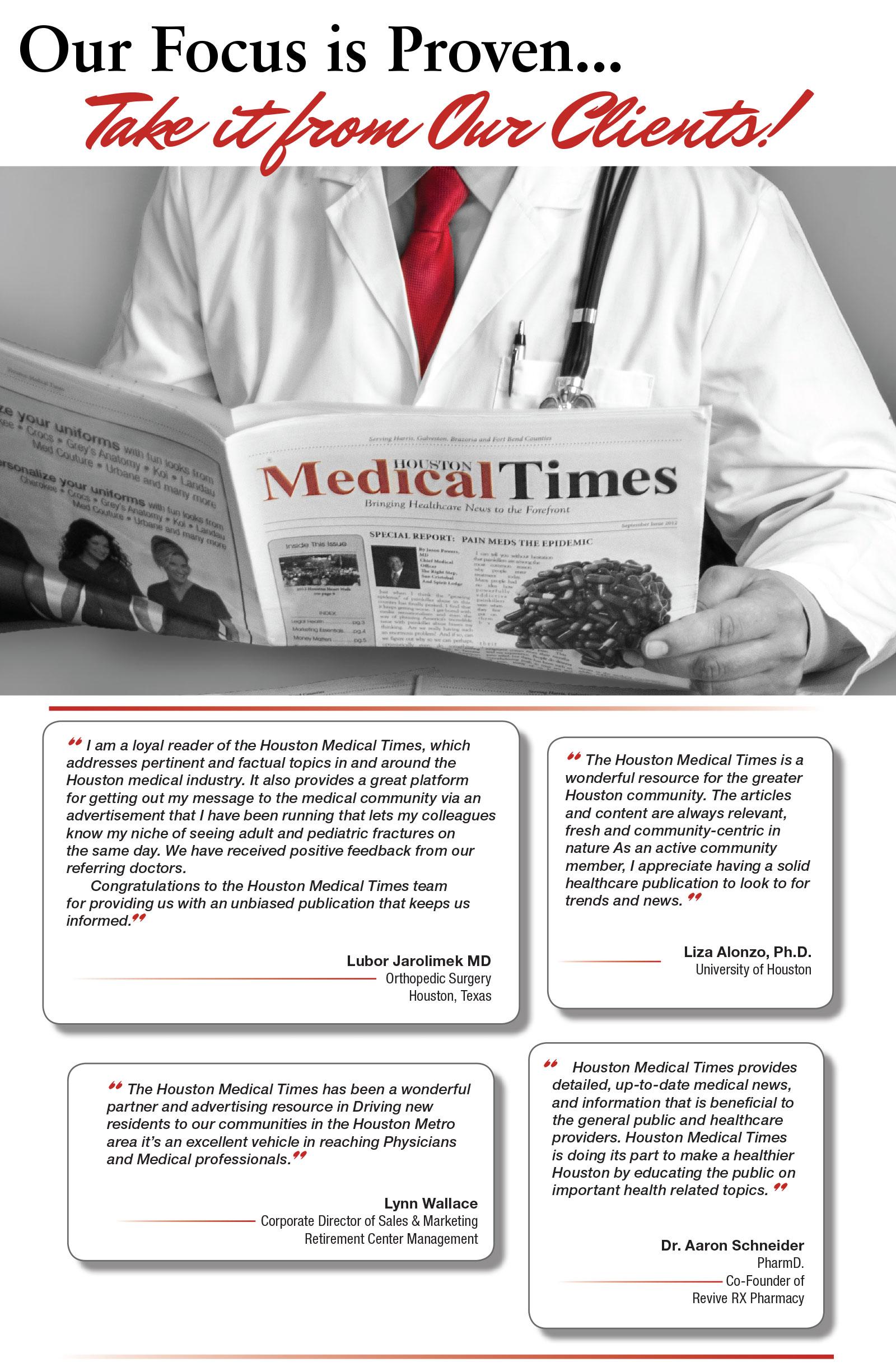 Advertising - Houston Medical Times